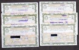 INA Istituto Nazionale Assicurazioni - Lotto 6 Quietanze Pagamento - 1939 / 1942 - Zonder Classificatie