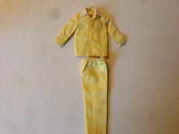 ORIGINAL BARBIE VINTAGE CLOTH RICKY Doll Yellow Pajamas - Barbie