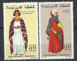 Maroc N° YVERT 591/92  NEUF ** - Morocco (1956-...)