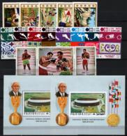 Fujeira 1970/72 3 Set + 2 S/S **/MNH VF - Fujeira