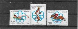 België 1976 Y&T Nr° 1800/02 (**) - Belgium