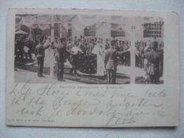 P143 AK Amsterdam - Inhuldiging Koningin Wilhelmina - 1898 - Amsterdam