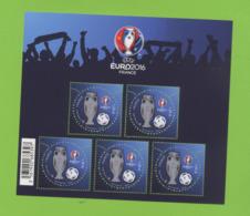 2016 : BF 137 Euro 2016 - Blocs & Feuillets