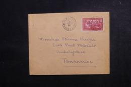 MADAGASCAR - Enveloppe De Tamatave Pour Tananarive En 1939,  Affranchissement Plaisant - L 47350 - Madagaskar (1889-1960)