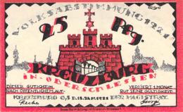 Notgeld  Satz 2 Werte Stadt Kreuzburg (Oberschl.).UNC (I) - [11] Emissions Locales