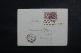 MADAGASCAR - Enveloppe De Tananarive Pour Marovoay En 1938,  Affranchissement Plaisant - L 47353 - Madagaskar (1889-1960)