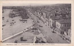 Salonique - Perspective Des Quais Avant Le Sinistre  (5J) - Grecia