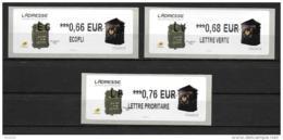 2015 - Musée De La Poste - Boîtes Aux Lettres - 2010-... Illustrated Franking Labels