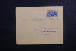MADAGASCAR - Enveloppe De Tananarive En Port Local En 1937,  Affranchissement Plaisant - L 47355 - Madagaskar (1889-1960)