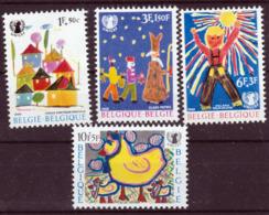 Belgique - Timbre De 1962 COB 1492 / 1495 XX - Belgium