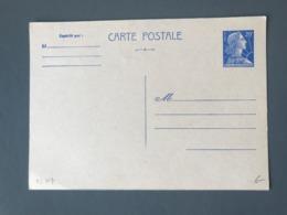 France Entier Postal 20fr Bleu - Neuf - (B2674) - Postal Stamped Stationery