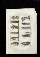 Stampa Antica 19° Secolo - Stampe Atiche - 1800 - Stampe Incisioni Stampa Antica - Prenten & Gravure