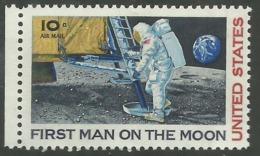 USA UNITED STATES STATI UNITI 1969 SPACE SPAZIO PRIMO UOMO SULLA LUNA FIRST MAN ON THE MOON MNH - Stati Uniti