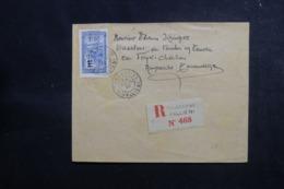 MADAGASCAR - Enveloppe En Recommandé De Tananarive Pour Tananarive En 1930,  Affranchissement Plaisant - L 47359 - Madagaskar (1889-1960)