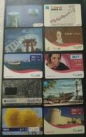 Qatar Telephone Card 10 Different - Qatar