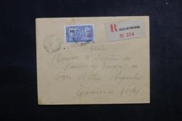 MADAGASCAR - Enveloppe En Recommandé De Maevatana Pour Tananarive En 1930,  Affranchissement Plaisant - L 47360 - Madagaskar (1889-1960)