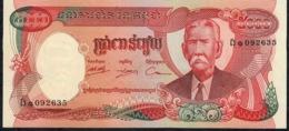 CAMBODIA P17A 5000 RIELS 1976     UNC. - Cambodge