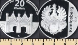 Königsberg 20 Mark 2018 - Monnaies