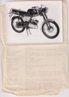 KTM 50s  +-18cm X 12cm  Moto MOTOCROSS MOTORCYCLE Douglas J Jackson Archive Of Motorcycles - Other