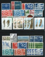 Scandinavia  ,  (Sweden,Denmark,Norway Etc.) Bigger Mint Party On 7 Stock-cards (as Per Scans) MNH - Europe (Other)