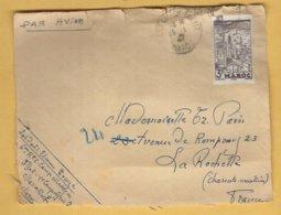 Devant D' Enveloppe MAROC 1947 - Morocco (1956-...)