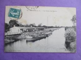 CPA 44 ROUANS LE CANAL DE BUZAY - Francia