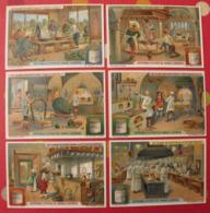 6 Chromo Liebig : L'art Culinaire Chez Divers Peuples. 1912. S 1037. Chromos. - Liebig