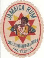 Jamaica Rum, Carel Ellinckuijsen & Zoonen, Rotterdam - Etiketten