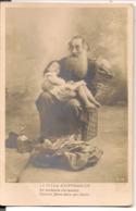 """L55B129 - Le Vieux Chiffonnier - """"Et Confiante S'endormit..."""" - S.I.P N°166/10 - Carte Précurseur - Fancy Cards"""