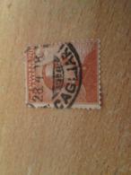 PUB1119 Timbre POSTE ITALIANE (cadeau Publicitaire NAZART Années 60) Début 20e Siècle CAGLIARI 28 4 18 - 1900-44 Victor Emmanuel III