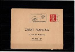 LCTN58/5 - ENV MULLER 0f25 TSC CREDIT FRANCAIS CIRCULE - Postal Stamped Stationery