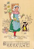 CP - JACK - Barré Et Dayez - Barday - La Marchande De Mouron - 1488H - Other Illustrators