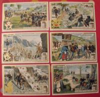 6 Chromo Liebig : Scènes De Manoeuvre En Italie. 1912. S 1045. Chromos. - Liebig