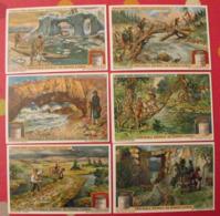 6 Chromo Liebig : Curieux Ponts Naturels. 1912. S 1057. Chromos. - Liebig