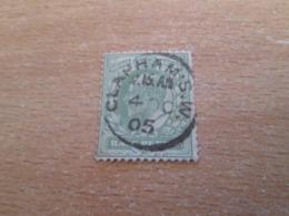 PUB1119 Timbre GB POSTAGE & REVENUE (cadeau Publicitaire NAZART Années 60) Début 20e Siècle HALF PENNY VERT CLAPHAM SW - 1902-1951 (Rois)