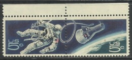 USA UNITED STATES STATI UNITI 1967 ACCOMPLISHMENTS IN SPACE ISSUE SPAZIO COMPLETE SET SERIE COMPLETA MNH - Stati Uniti