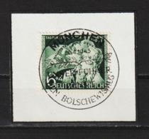 MiNr. 843 Briefstück, Sonderstempel (0009) - Gebraucht