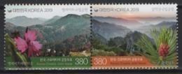 Korea S. (2019) - Set -  / Joint Issue Croatia - Flowers - Heritage - Emissioni Congiunte