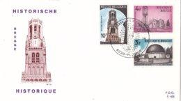België - FDC 423 - 22 Juni 1974 - Historische Uitgifte II - OBP 1718/1719/1722 - FDC