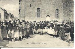 PORT-LOUIS - La FOIRE - Très Belle Carte - Port Louis