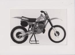 Honda 450R +-22cm X 14cm  Moto MOTOCROSS MOTORCYCLE Douglas J Jackson Archive Of Motorcycles - Other