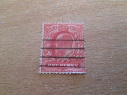 PUB1119 Timbre GB POSTAGE & REVENUE (cadeau Publicitaire NAZART Années 60) Début 20e Siècle ONE PENNY ROUGE - 1902-1951 (Rois)