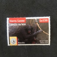 SIERRA ELONE. CELEBRATE THE WILD. BONOBO. MNH. 5R1404D - Sellos