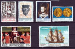 Belgique - Timbres De 1973 COB 1677 / 1682 XX - Belgium