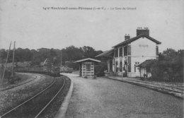 MONTREUIL Sous Pérouse - La Gare De Gérard - Altri Comuni