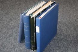 DEUTSCHES REICH Sammlungen In 4 Vordruckalben, 189 Bilder ....208 (F) - Briefmarken