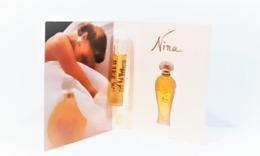 échantillons De Parfum  Tubes  NINA  De NINA RICCI   EDP 1.2  Ml - Campioncini Di Profumo (testers)