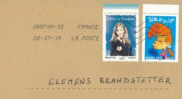 [A4] Tag Der Briefmarke Comic Brief - Frankreich