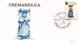 België - FDC 464-469 - 13 December 1975 - 1e Wereldtentoonstelling Thematische Filatelie - OBP 1789-1794 - FDC