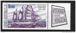 "Taaf:année 1984 Poste A-85** Navire Scientifique ""Gauss "" - Luftpost"